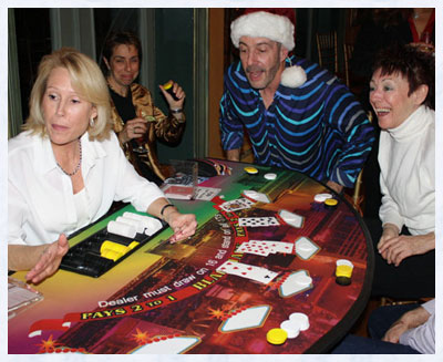 Casino Party Blackjack Table