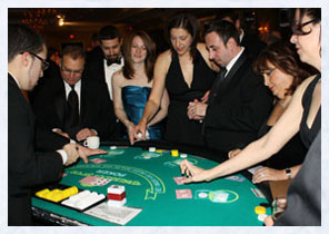 Casino Party Poker Table