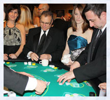 Casino Party Caribbean Stud Table